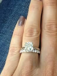 plain engagement ring with diamond wedding band wedding bands for solitaire rings breathtaking diamond wedding
