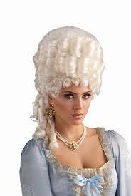 white halloween wigs amazon com forum novelties women u0027s marie antoinette wig