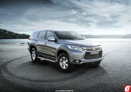 2016 Mitsubishi Pajero Sport Gets Rendered Accurately