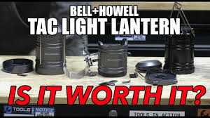 bell howell tac light lantern bell and howell tac light lantern how tough is it youtube