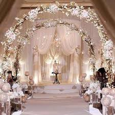 wedding arches with lights i m not entirely sure i would go all out like this but this is