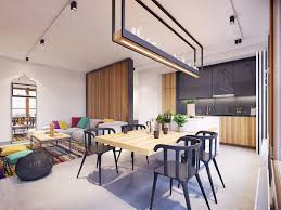 Interior Design Ideas For Living Room And Kitchen by Black White U0026 Wood Kitchens Ideas U0026 Inspiration