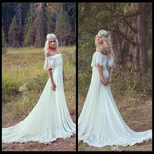 hippie boho wedding dresses bohemian mermaid wedding dress