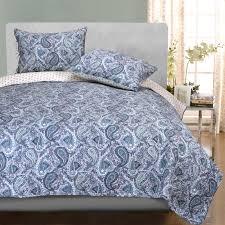 superior cotton moroccan paisley quilt set hayneedle