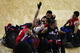 Wheelchair Rugby Chairs For Sale Murderball Paralympics 2012 Sees The Start Of The World U0027s Most
