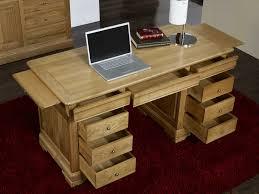 bureau en bois massif bureau bois massif bureau de rangement lepolyglotte