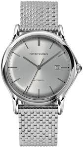 armani steel bracelet images Emporio armani swiss automatic stainless steel bracelet watch 42mm jpg