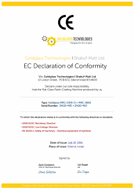 ce declaration of conformity example pictures to pin on pinterest