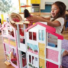 barbie 3 story townhouse 100 00 hamleys for barbie 3story