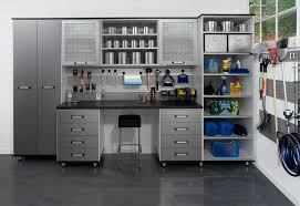 Metal Cabinets For Garage Storage by Exterior Admirable Modern Garage Storage With Metal Cabinets And