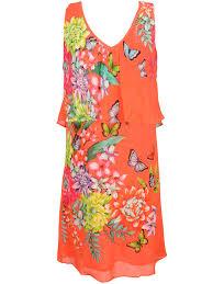 rene dhery rene derhy robe s510161 orange femme des marques et vous