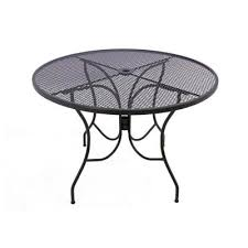 arlington house jackson oval patio dining table arlington house glenbrook chocolate brown 42 in round mesh patio
