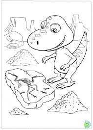 dinosaur train train coloring pages