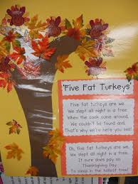 thanksgiving poems for preschoolers camp kindergarten five fat turkeys freebie and thanksgiving math