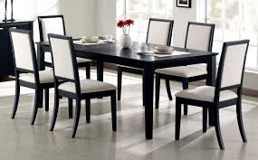 7 piece black dining room set alliancemv com