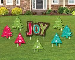 christmas yard art etsy