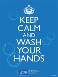 Keep Calm Meme Template - posters handwashing cdc