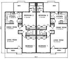 Multi Family Home Floor Plans Country Ranch Southern Multi Family Plan 59208 Level One Tips