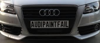 2009 audi a4 issues 2011 audi a4 avant front bumper paint peeling issue