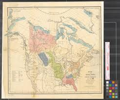 Map Of North America Map by Map Of The Indian Tribes Of North America About 1600 A D Along