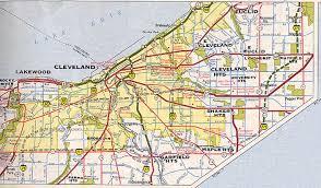 map of cleveland cleveland maps