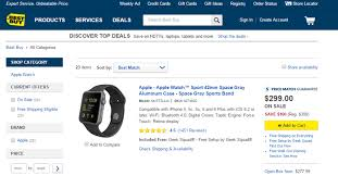 best buy discounts apple watch simple sale or sign of weaker