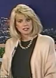 news anchor in la short blonde hair ex cbs news anchor bree walker arrested on dui charges daily