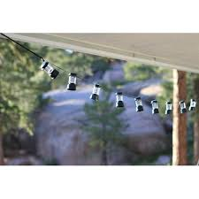 Led Outdoor Patio String Lights by Coleman Led Camp Lantern String Lights Walmart Com