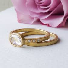 ethical engagement rings iris ethical engagement ring in 18ct fairtrade gold shakti ellenwood