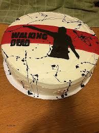 walking dead cake ideas birthday cakes lovely the walking dead birthday cake ide hic