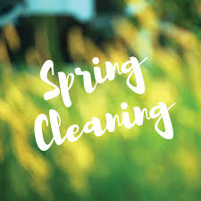 springcleaning closed for spring cleaning craft