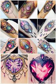 Home Design Story Gems by Best 20 Gem Tattoo Ideas On Pinterest Diamond Heart Tattoos