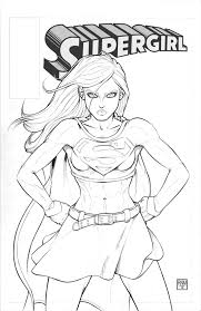 supergirl coloring pages cool supergirl coloring pages for kids