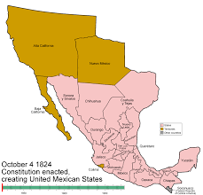 Chihuahua Mexico Map File Mexico States Evolution Gif Wikipedia