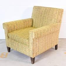Tweed Armchair Vintage Yellow Tweed Armchair Loveseat Vintage Furniture San Diego