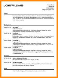 7 online resume examples emails sample