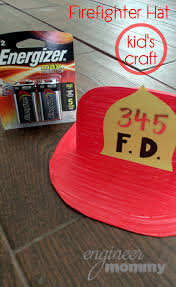 diy firefighter hat u0026 fire safety printable engineer mommy