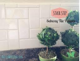what is a kitchen backsplash stair step your way to a new kitchen backsplash hometalk