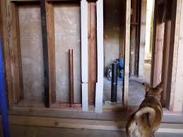 progress report rough in plumbing foghill modern