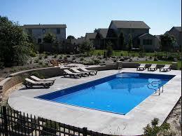Average Backyard Pool Size Rectangle Inground Swimming Pool Kits Royal Swimming Pools