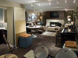 Ideas For Remodeling Basement 22 Finished Basement Contemporary Design Ideas