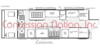 pizza shop floor plan floor plan food truck design food truck kitchen design