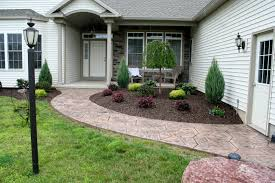 front house landscaping ideas front garden entrance model 84