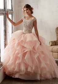 pink dress bright blush pink tulle quinceanera dresses gowns strapless