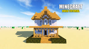Small House Minecraft Minecraft How To Make A Suburban House Tutorial Simple U0026 Easy