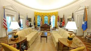 trump oval office redecoration redecorated oval office