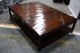 coffee table large square designer coffee table black oak white