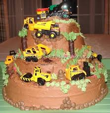 coolest construction birthday cakes