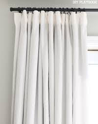 Black And White Striped Curtains Ikea How To Make Diy No Sew Blackout Curtains For Your Bedroom Window