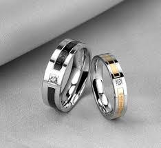 stainless steel wedding rings endeless titanium stainless steel engagement rings for